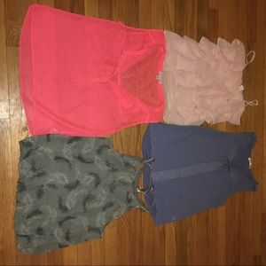 Chiffon shirt lot size small